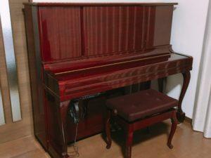 中古のアップライトピアノに消音ユニットをつけてみた感想【ヤマハ】