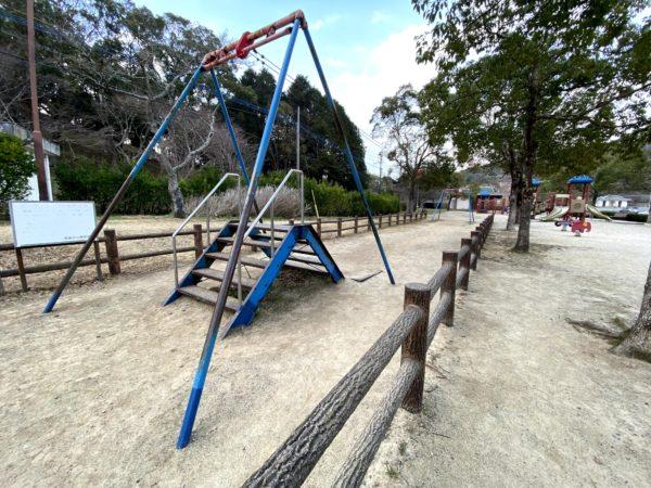 稲佐山公園のターザンロープ