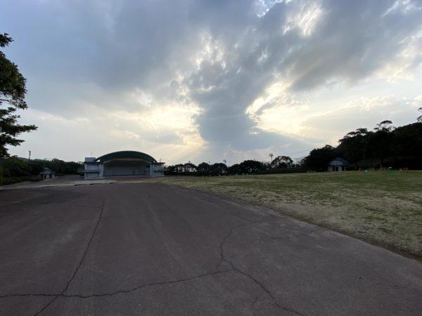 稲佐山公園の野外ステージ