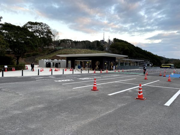 稲佐山公園のスロープカー駅