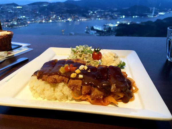 稲佐山ひかりのレストランのトルコライス