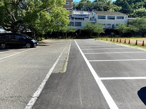 長崎交通公園の駐車場