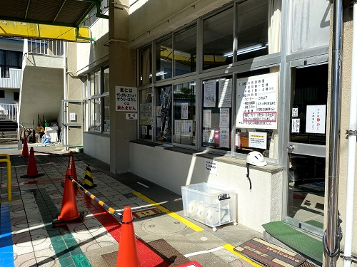 長崎交通公園の受付