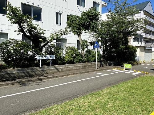 長崎交通公園の竹馬コーナー