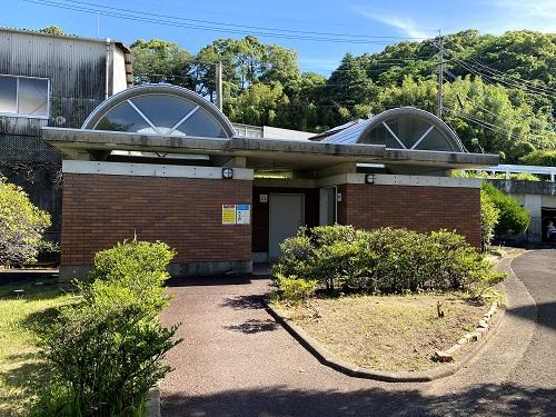 長崎交通公園のトイレ