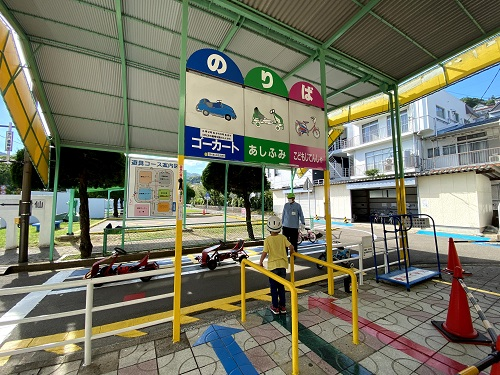 長崎交通公園の乗り場